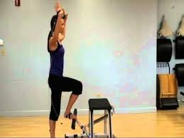 Pilates Chair Exercises Tye4 On The Pilates Chair Youtube