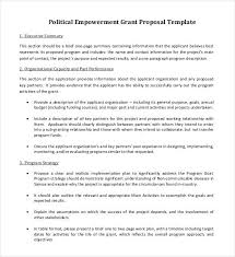 grant proposal template 33 free word excel pdf ppt format