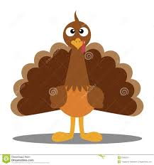 no turkey thanksgiving turkey cute cartoon stock images image 35665014
