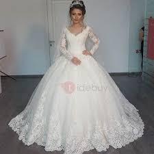 wedding dresses gowns gowns wedding dresses vintage v neck sleeves appliques