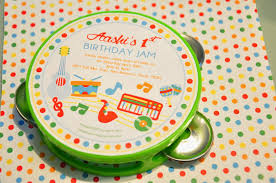 music themed the party wall baby jam a music inspired 1st birthday party