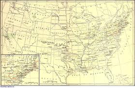 Map Of The Carolinas Usa by United States Jewishencyclopedia Com