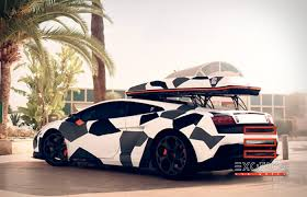 blue camo lamborghini car wrap in miami graphic designers u0026 installers experts certified