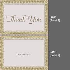 thank you card ideas design folded thank you cards blue folded
