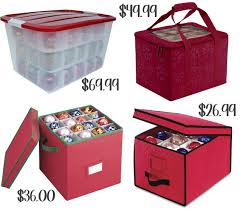 make your own ornaments storage box ornament