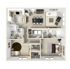 100 floor plan of a two bedroom flat apartment home