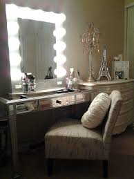 Table Vanity Mirror Popular Attractive Makeup Table With Lighted Mirror Vanity