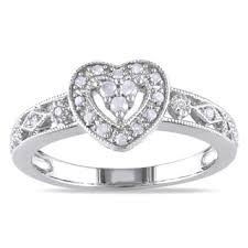 Heart Wedding Rings by Heart Diamond Rings Shop The Best Deals For Oct 2017 Overstock Com