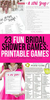 interactive bridal shower best 25 printable bridal shower ideas on free