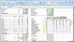 residential construction budget template excel and construction