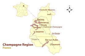 champagne cartoon champagne region map and guide to the best cities