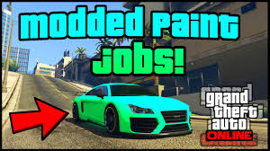 gta 5 online top 3 rare paint jobs gta v best u0027 u0027modded crew