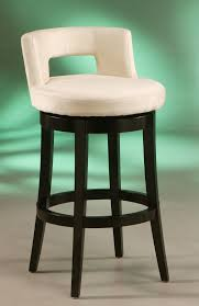Furniture Elegant Bar Stools Elegant by Furniture Elegant White Low Back Bar Stools With Black Wood Frame