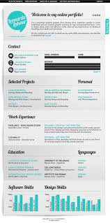 Resume Online Website 206 Best Creative C V U0027s Images On Pinterest Cv Design Resume