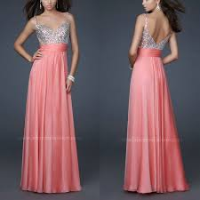 best selling spaghetti straps water melon color prom dresses 2015