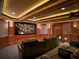 Home Theater Decorating Ideas On A Budget Basement Home Theater Plans Decor Modern On Cool Marvelous