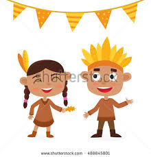happy thanksgiving day greeting card stock vector 488351281
