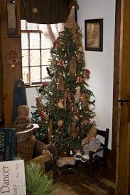 primitive christmas tree 18 best christmas trees colonial primitive country design