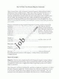 Resume Sample Objective Statements by Resume Mission Statement Free Resume Example And Writing Download