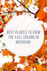 places fall colors michigan ryan watkins