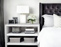 Ideas For Nightstand Height Design Bedside Table Height Bedroom Contemporary With Bedside Table