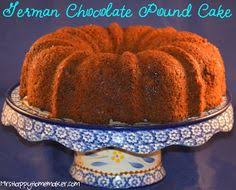 german chocolate pound cake all things food pinterest