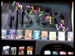mystery books display at the lacey timberland library my library