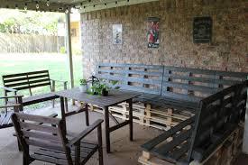 Pallet Wood Patio Furniture - outdoor pallet patio furniture how to install pallet patio