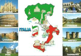 Livorno Italy Map by Postcard Crossings My Adventures With Postcrossing Com Page 2