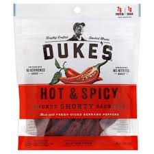 duke u0027s u0026 spicy shorty smoked sausages shop jerky at heb