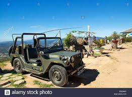 jeep vietnam a restored us marine corps jeep parked on radar top langbiang