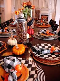 thanksgiving dinner table decorations pictures ideas for
