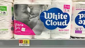 White Cloud Bathroom Tissue - new coupon white cloud bath tissue or paper towels no size