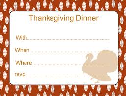thanksgiving invitations ideas and printables
