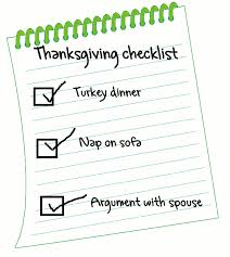 pre thanksgiving checklist tips to get back on track journey