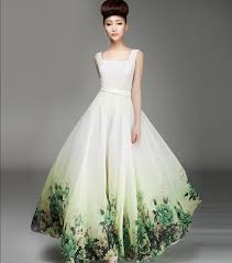 green wedding dresses my chiffon wedding dress is