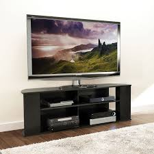 Tv Stand With Back Panel Monarch Tv Stand For Tvs Up To 60