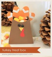 thanksgiving favor box crafts treat bags holders