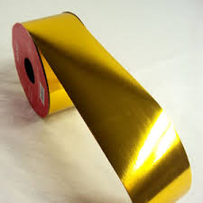 gold metallic ribbon metallic gold ribbon 2 inch 50mm wide gold metallic ribbon