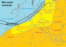 Jet Stream Forecast Map Southerly Tracking Jet Stream Keeps Heat Away Blog By Nick Finnis
