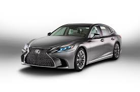lexus used car auction 2018 lexus ls 500 f sport to debut in new york automobile magazine