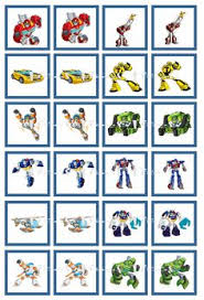 printable transformers birthday banner be a hero and help our transformers rescue bots find their vehicles