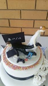 grooms cake toppers wedding cake topper dest and groom xbox