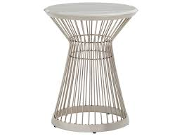 Martini Side Table by Lexington Ariana Martini Stainless Chair Side Table With Marble
