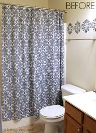 Garage Bathroom by How To Paint Crisp Stripes Boys U0027 Bathroom Makeover In The