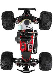 nitro gas rc monster trucks losi lst xxl 2 avc 1 8 gasoline 4wd monster truck losi los04002
