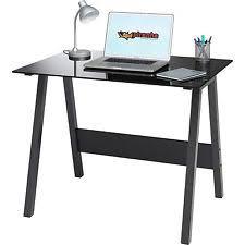 glass desk home u0026 office desks ebay