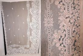 Antique Lace Curtains Vintage Lace Curtains Home Designs Idea