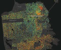 Crime Map San Francisco by Mesmerizing Maps Show Where The Highest Educated Americans Live In