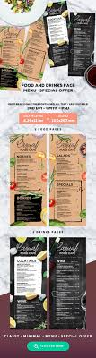 sle menu design templates 121 best menu design images on bakeries beverages and